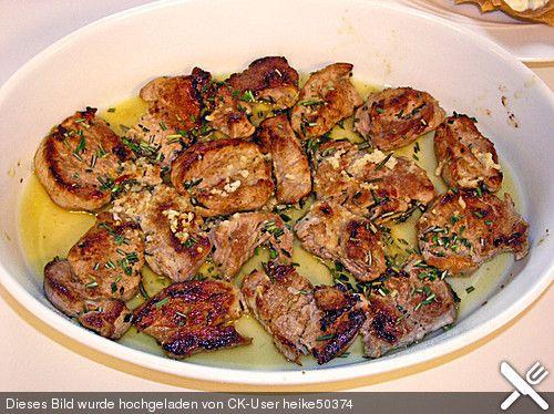 Schweinefilet als Fingerfood mit würziger Sauce (Rezept mit Bild) | Chefkoch.de