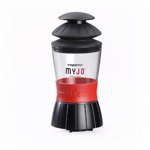 Special Offers - Presto 02835 MyJo Single Cup Coffee Maker - In stock & Free Shipping. You can save more money! Check It (April 13 2016 at 12:31AM) >> http://coffeemachineusa.net/presto-02835-myjo-single-cup-coffee-maker/