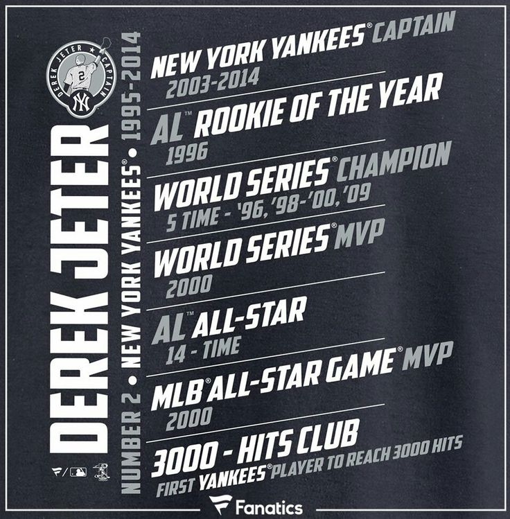 The Yankees retired #DerekJeter number 2. This was well deserved for a  person that