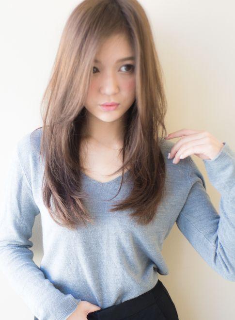 髪型 ロング パーマ