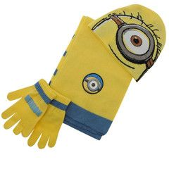 DESPICABLE ME ~ 3pc Yellow Knitted Set | Little Gecko