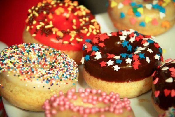 Donuts (ciambelle americane), la ricetta di Francesco Saccomandi   TELEcucinoIO