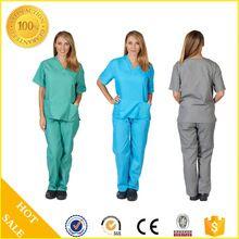 Custom Fashion medical scrubs in hospital uniform with scrub pants