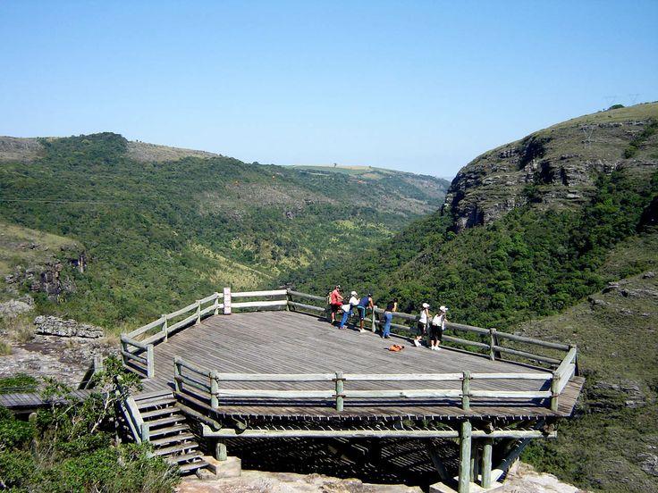 Canyon Guartelá - Localizado no Parque Estadual do Guartela - TIbagi, a 45 km de Ponta Grossa.