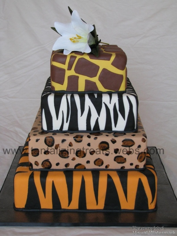 Great Animal Prints! Could use for a Jungle Themed or Zoo Themed Party