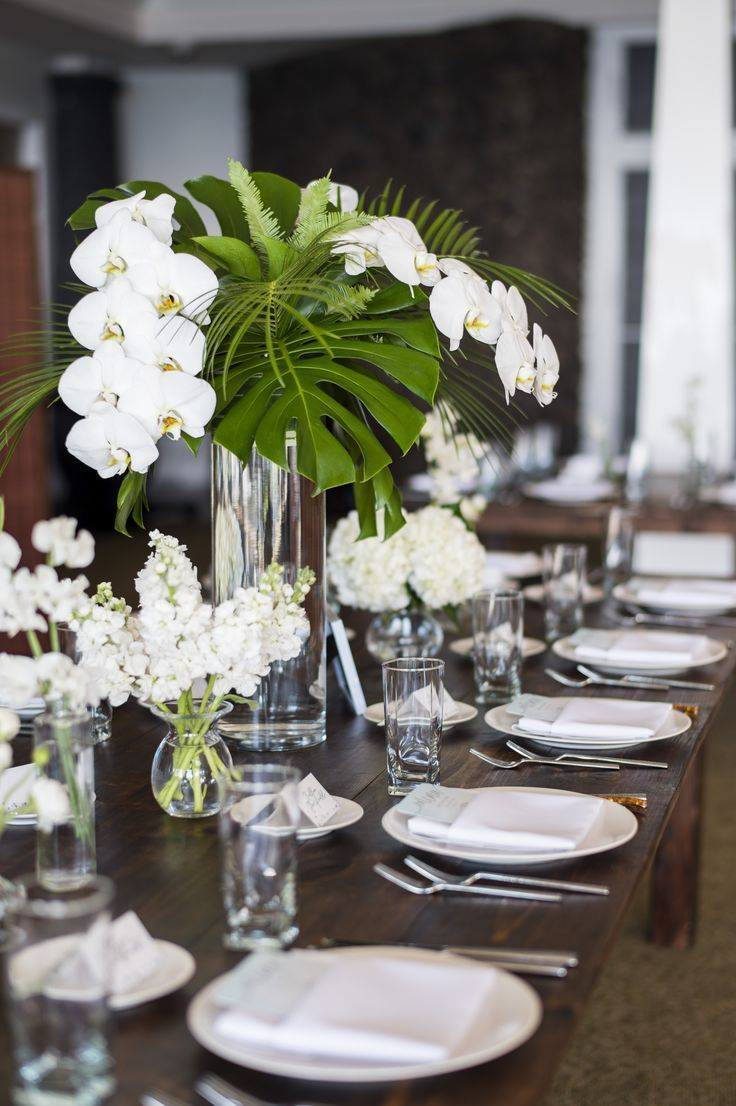 Floral Arrangements Dining Table Centerpieces With Bright