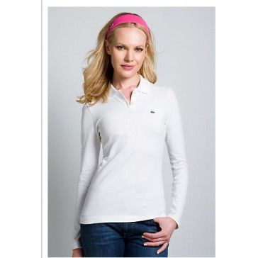 Classic Women Long Sleeve, White