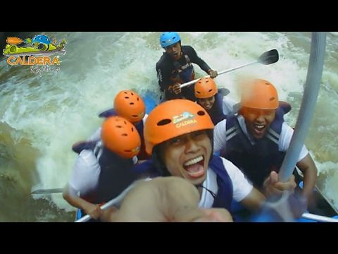 Sungai Citarik Arung Jeram Mengasyikkan di Jawa Barat - Jawa Barat