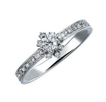 エンゲージリング(プラチナ、ダイヤモンド) 税込価格:¥199,500