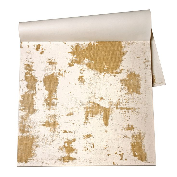Discover+the+Kitchen+Papers+Chilewich+-+Gold+Imprint+Placemats+-+30+Sheets+at+Amara