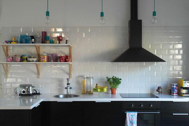 isoistapienistä  meidän värikäs keittiö