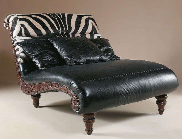 36 best images about furniture on pinterest western for Animal print chaise lounge