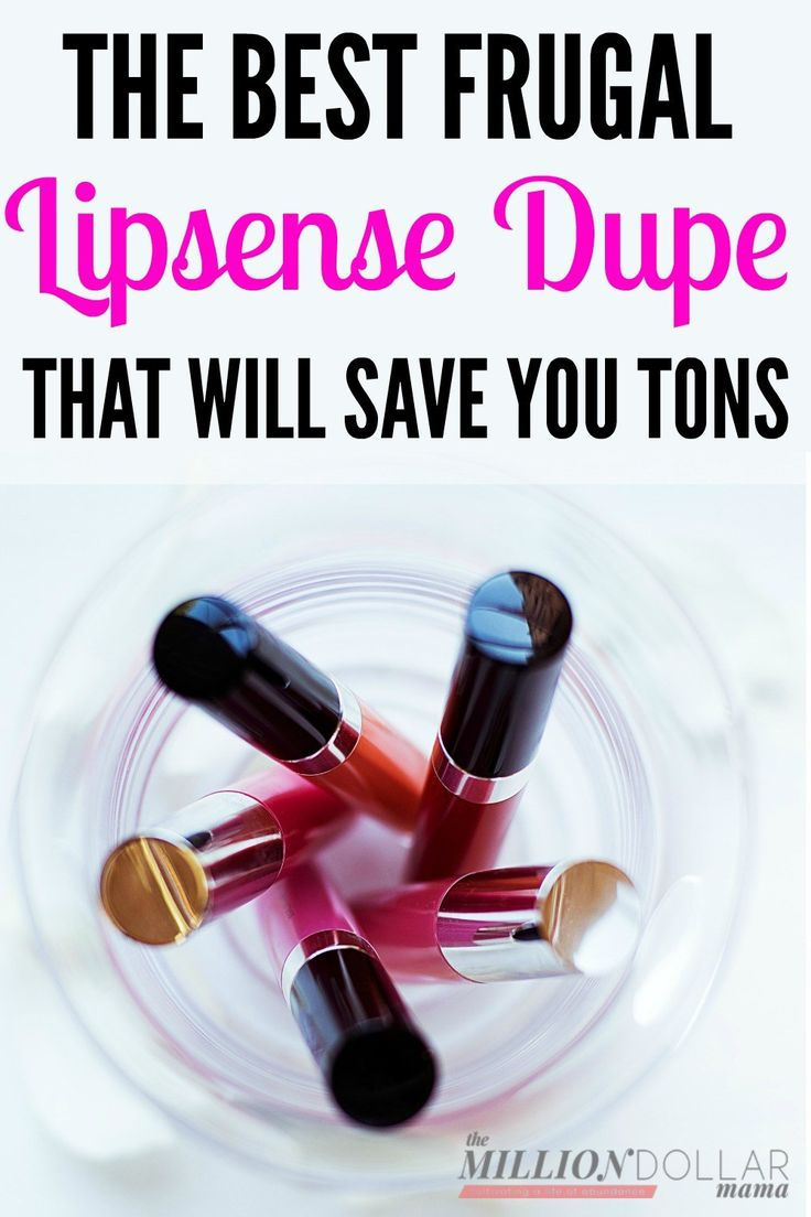 The best frugal Lipsense dupe that will save you tons of money!