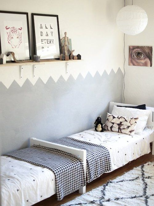 1000 ideas about sibling room on pinterest sister room - Toddler bedroom ideas for small rooms ...