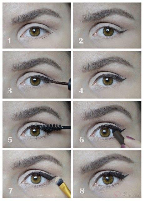 Eyeliner tutorial Návod na očné linky