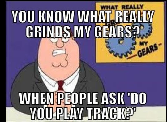 Omg Yes! Or can't tell the difference between Track and Cross Country.
