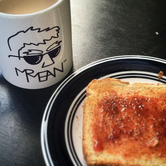 Coffee and toast... solid