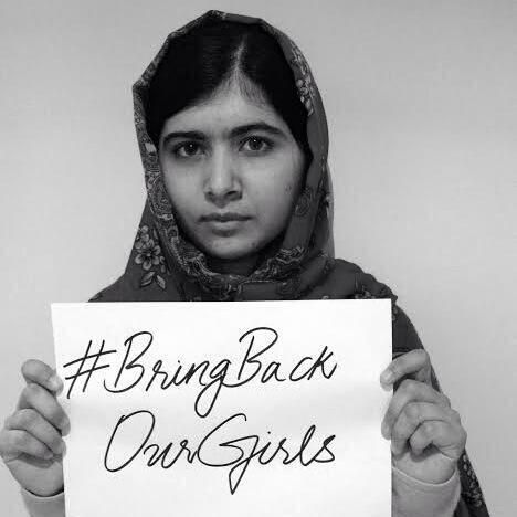 """ I call on the international community and the government of Nigeria to take action and save my sisters.""-Malala pic.twitter.com/lvxhfhe6jX"