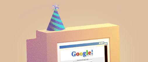 17º Aniversário do Google