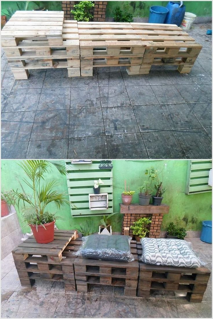 168 best images about Wooden Pallet Furniture on Pinterest