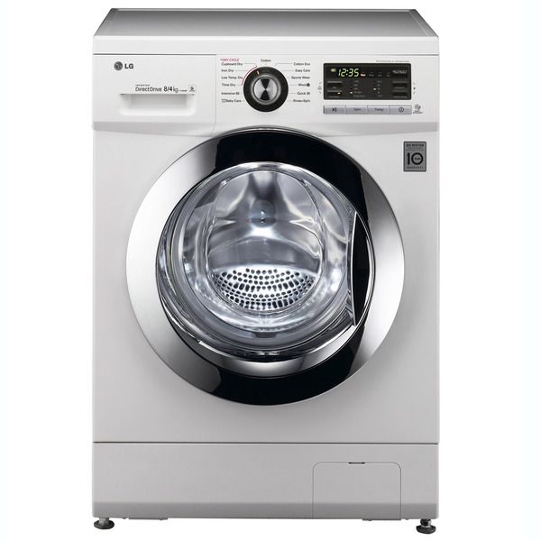 El corte inglés 589+iva Lavadora secadora LG  F1496ADP3 de 8 Kg y 1.400 rpm