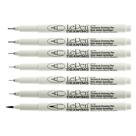 the best drawing pens- use for lettering, doodling, cartooning, or drawing