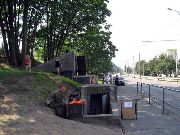 #Schron przeciwlotniczy #Gdynia Leszczynki ulica Morska, #Poland