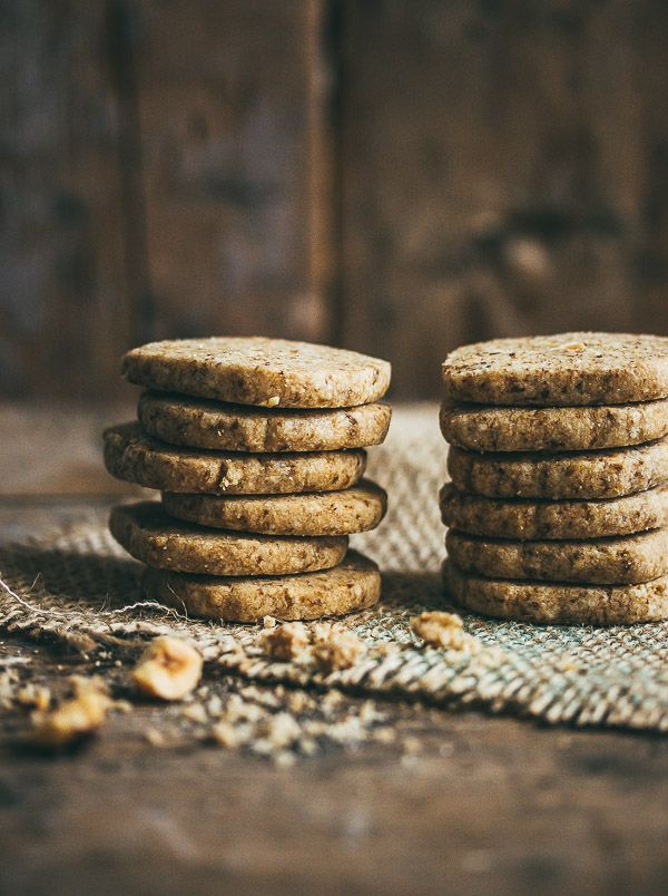 Addictive coffee nut shortbread cookies that make a great gift for any occasion.