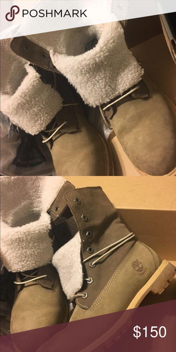Timberland boots Sherpa lined Timberland Shoes Winter & Rain Boots