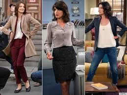 Robin Scherbatsky - office wear!