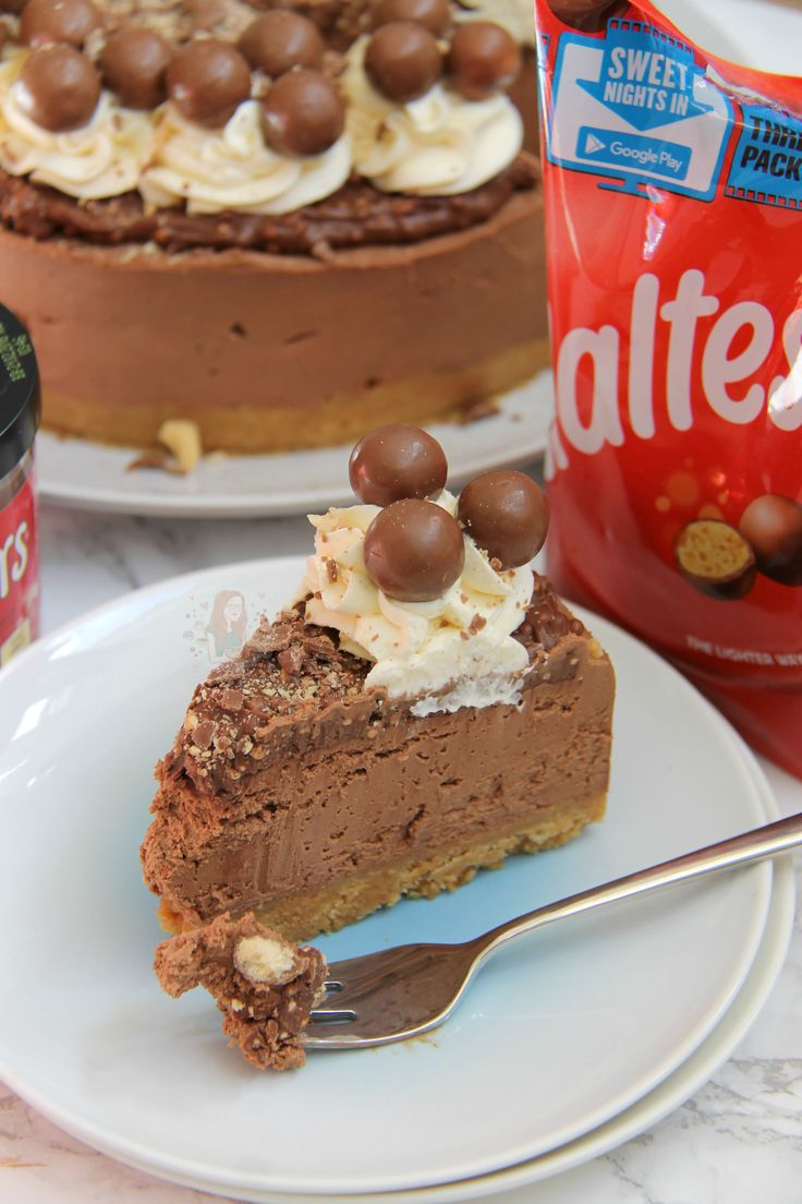 Delicious & Chocolatey MalteserCheesecake – Malt Biscuit Base, Chocolate Malt Cheesecake, Malteser Spread, Sweetened Cream, and Maltesers! Perfect Showstopper for any occasion! This cheesecake is SO delicious chocolatey and moreish – that I ate the whole thing myself with a fork. I'm kidding. (I wish) Anywayyyy… I have had so many requests for Malteser Cheesecake that I have literally lost count – after the success of myNo-Bake Caramel Rolo CheesecakeI thought I would oblige! I did thi...