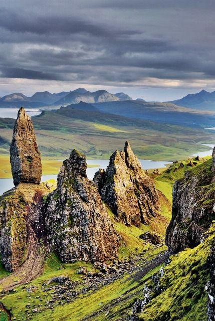 Isle of Skye, Scottish Highlands #isleofskye #holidaydestinations                                                                                                                                                     More