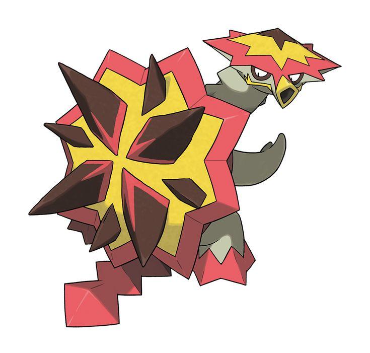 Jun'ichi Masuda et Shigeru Ōmori de Game Freak ont profité de la Gamescom afin de présenter aux joueurs un nouveau Pokémon qui sera disponible dans Pokémon Solei let Lune. Boumata fait partie des compagnons que vous pourrez capturer dans la région Alola et ce Pokémon de type feu/dragon qui vit près des volcans est classé dans la catégorie Tortue Boum.
