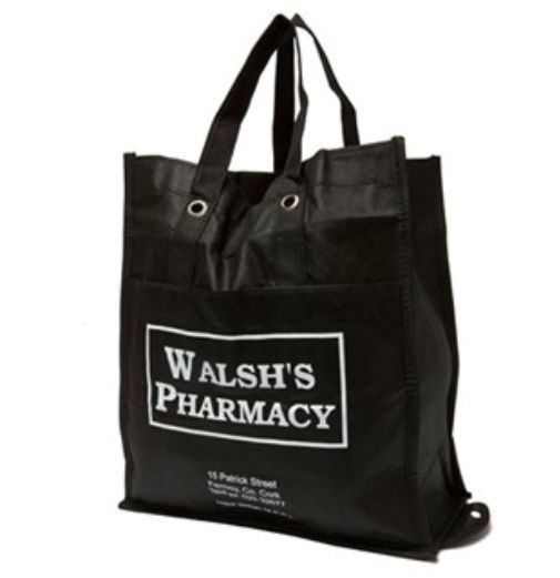 #pharmacybags Fabric bags can be a nice change from the regular kraft paper bags.
