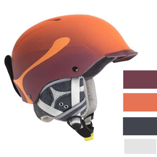Casca Ski Cebe Contest Visor Pro Orange- un design modern si siguranta sporita. Sistemul de reglare a castii va ajuta la ajustarea castii pentru un confort sporit.
