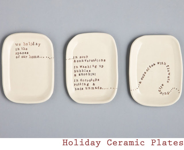 Kylie Johnson is an Australian designer, potter and poet. She blends her talents into wonderfully organic, wabi sabi shapes made out of ceramic. On these she then hand imprints either her own composed poems or quotes those of others.