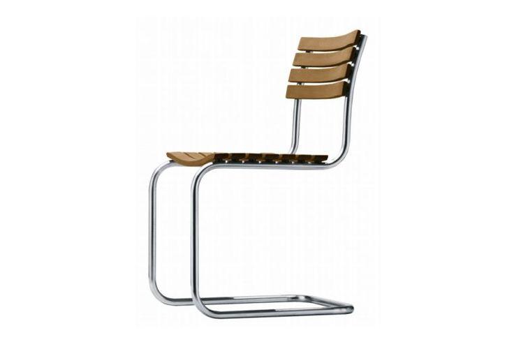 Gartenstühle: klar und zurückhaltend in der Form, mit optimalem Sitzkomfort - THONET-Möbel - Stühle, Tische, Sessel und Sofas, Design-Klassiker aus Bugholz und Stahlrohr