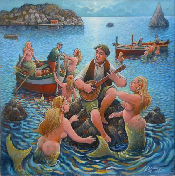 acitrezza-to-the-sirens-you-fall in love-of-sailors-40x40_ridimensionare Salvo Caramagno