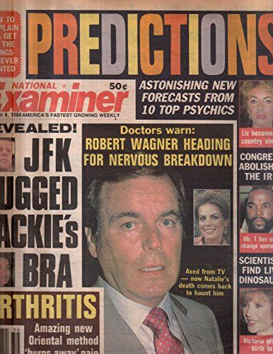 National Examiner 1984 Sep 04 Robert Wagner,Mr.T,Joan Collins,Cher,Kate Jackson