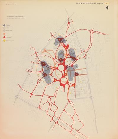 Competition University, Vienna 4, 1974 Traffic system