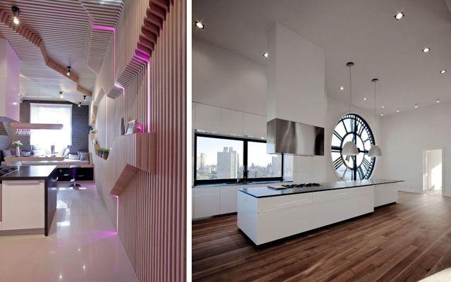 Decoraci n de cocinas modernas de vanguardia cocinas for Decoracion paredes cocinas modernas