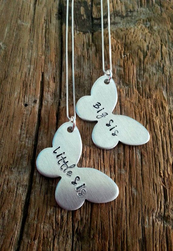 Hey, I found this really awesome Etsy listing at https://www.etsy.com/listing/211944053/sister-necklace-set-big-sister-little