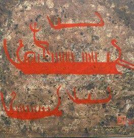 Kalliomaalaus-akryylimaalaus