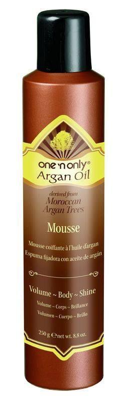 ONE N ONLY ARGAN OIL MOUSSE 8.8 OZ