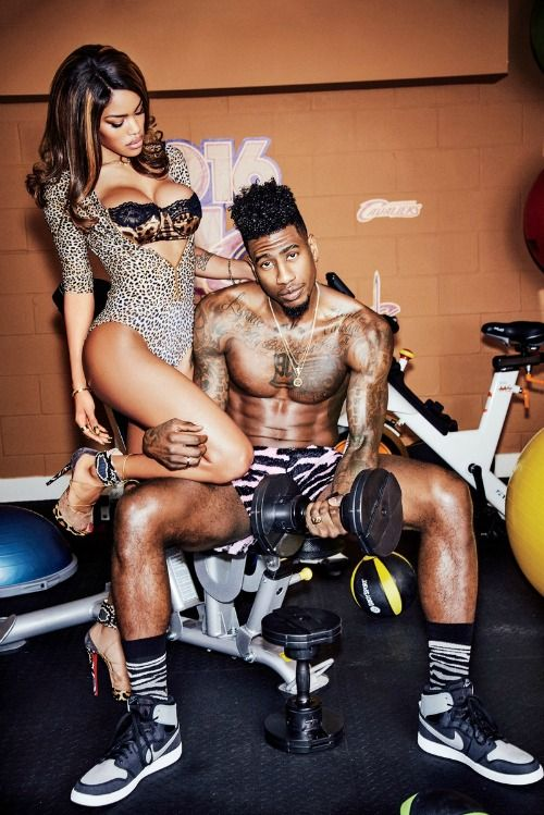 Teyana Taylor and Iman Shumpert photoshoot for GQ. Check out more on Madamenoire.