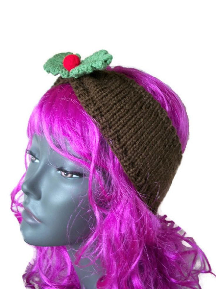 Holly Earwarmer, Hairband - Hand Knitted, £10.99