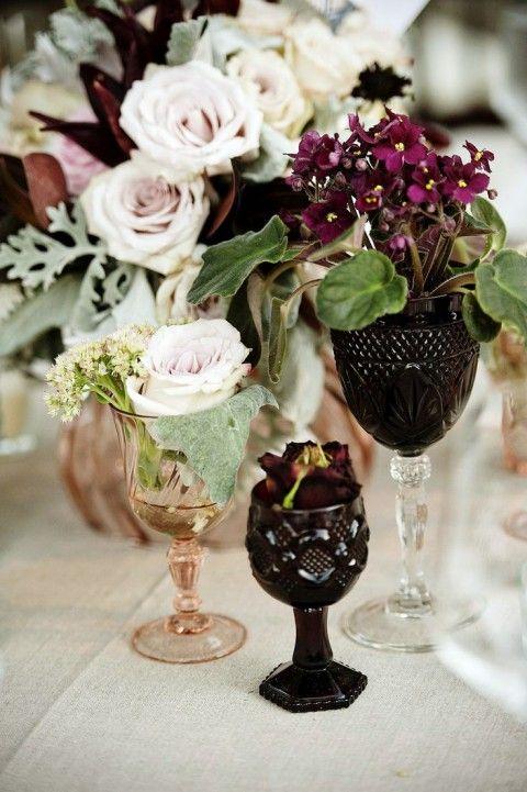 Adorable Boho Chic Wedding Centerpieces | www.MadamPaloozaEmporium.com www.facebook.com/MadamPalooza