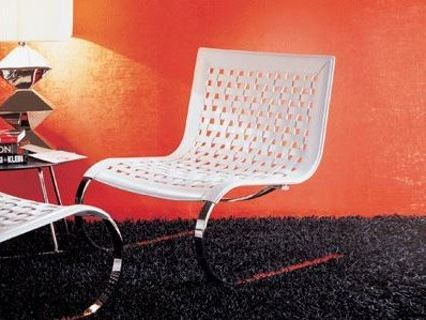Cantilever steel easy chair O'Mies Collection by ITALY DREAM DESIGN | design Giancarlo Vegni