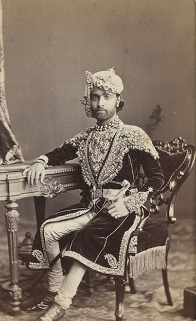 Sheodan Singh, Maharao Raja of Alwar.( 1857 - 1874)