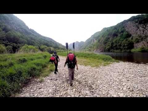 Klymit Pack Rafting with the LWD in Korea